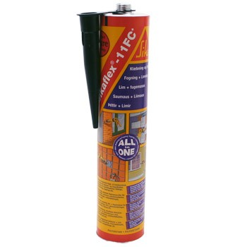 Sikaflex-EBT Adhesive Sealant Filler Black 300ml