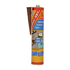 Sikaflex-EBT Adhesive Sealant Filler Brown 300ml