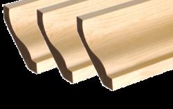 25 x 100mm Nom. Redwood Cornice. Premium Grade