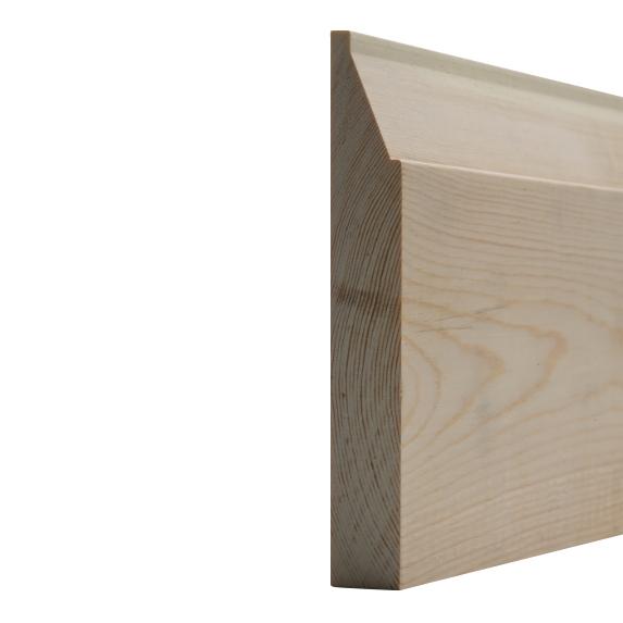 25 x 150mm Nom. Redwood Contempoary Skt. Premium Grade