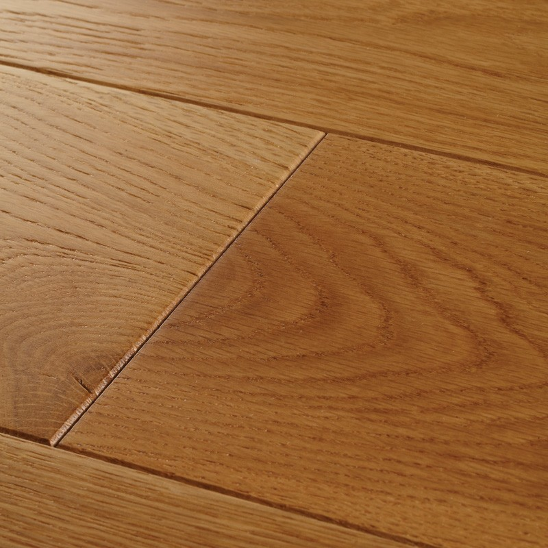 18 x 130mm Random 300-1500mm York Select Solid Oak, Brushed & UV Matt Laq, 2.29m2 Pack