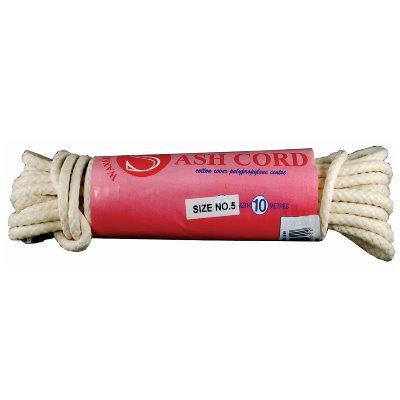 Waxed Sash Cord 10m