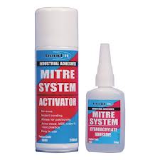 Bond-it Mitre System Adhesive 50g & Activator 200ml