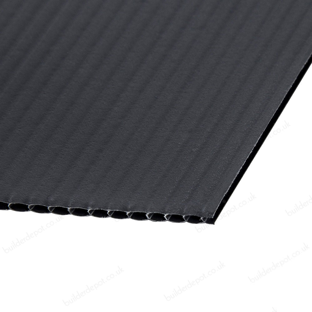 2400 x 1200 x 2mm Black Protector Board