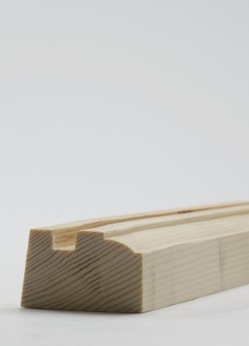 38 x 50mm Nom. Redwood Bottom Meeting Rail. Premium Grade