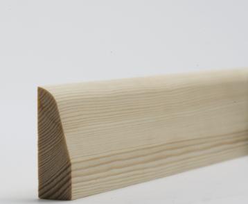 25 x 75mm Nom. Redwood Chamfered Architrave. Premium Grade