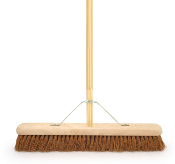 Coco Head Broom with Stay & Handle