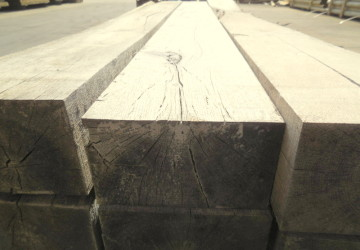 100 x 200mm Grade 2 Oak Sleeper 2.4m