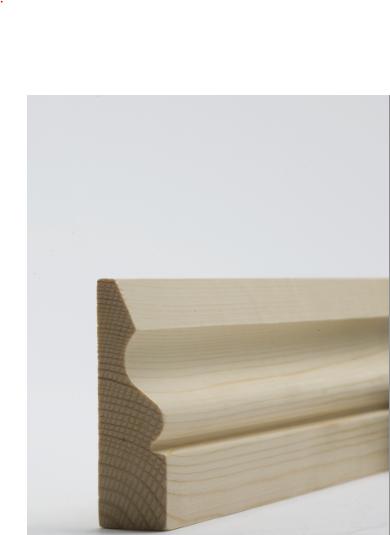 25 x 75mm Nom. Redwood Ogee Architrave. Premium Grade