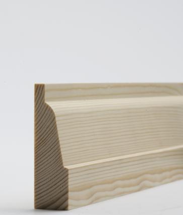 25 x 75mm Nom. Redwood Ovolo Architrave. Premium Grade