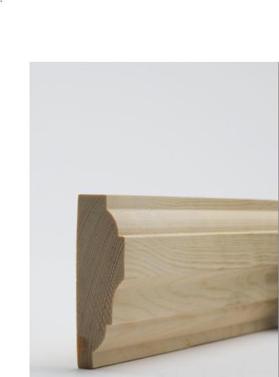 25 x 75mm Nom. Redwood Dado Rail. Premium Grade - D9