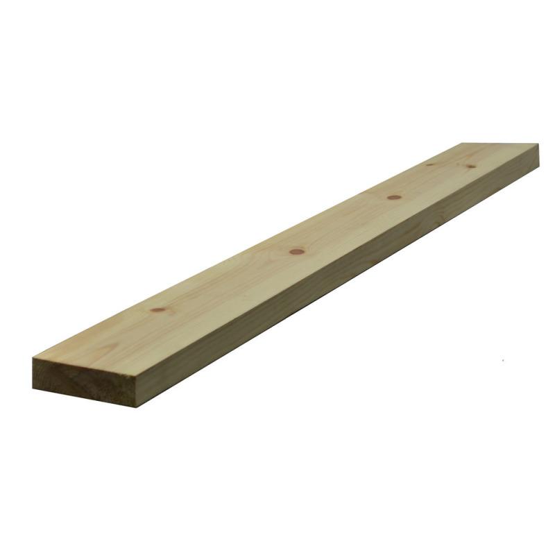32 x 115mm Nom. Planed Redwood. Standard Grade