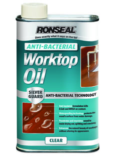 Ronseal Anti-Bacterial Worktop Oil Clear