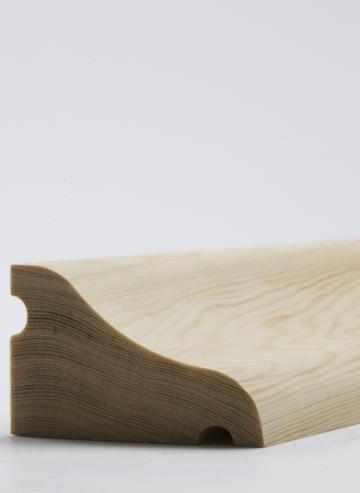 50 x 75mm Nom. Redwood Door Drip. Premium Grade.