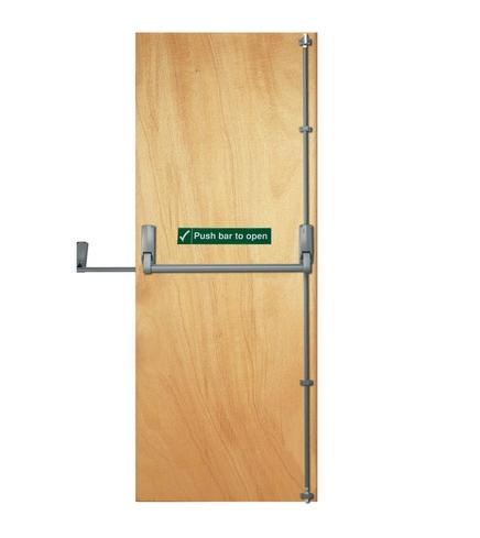 2032 X 813 x 44mm External Plywood Lipped Fire Door - FD30
