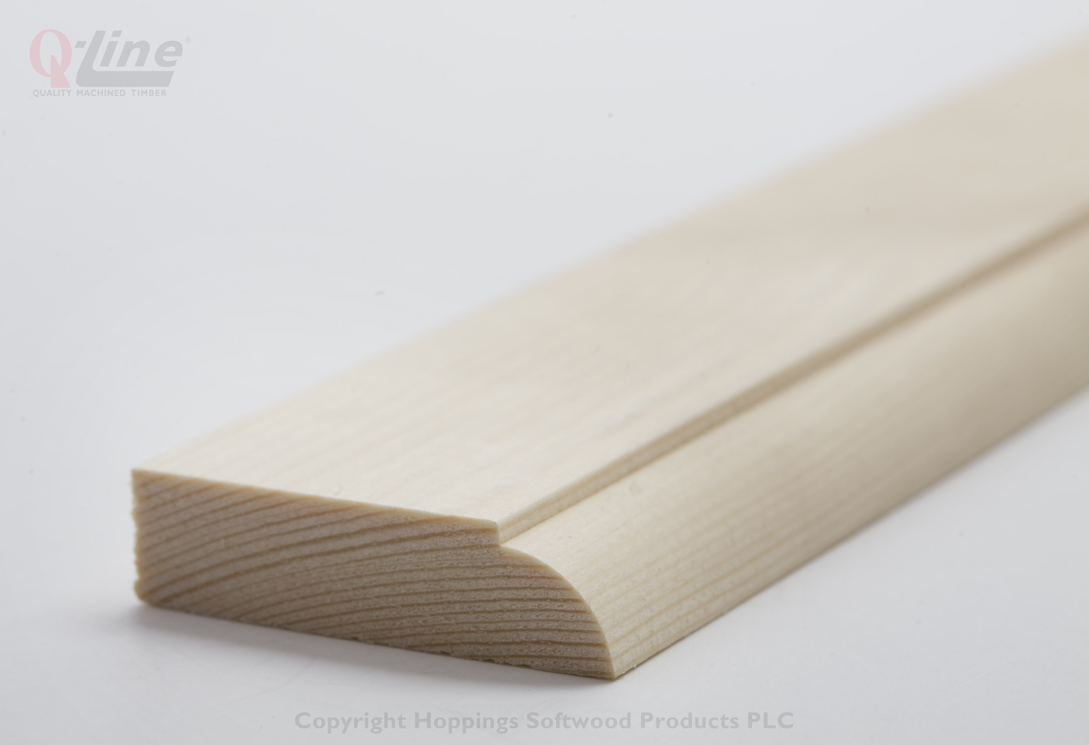 12 x 44mm Finish size Ovolo Door Stop  2.4m