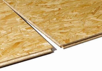 2440 x 600mm Oriented Strand Board OSB3 Smartply TG4