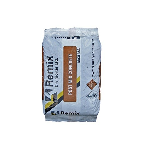 Remix Post Mix Concrete - Rapid Set 20kg
